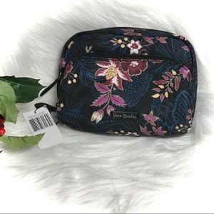 🎁 Vera Bradley Midtown Cosmetic Garden Dream NWT